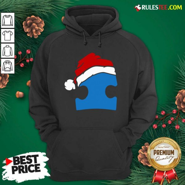 Perfect Santa Autism Christmas Hoodie - Design By Rulestee.com