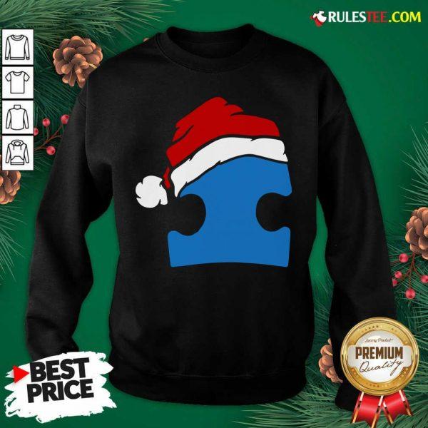 Perfect Santa Autism Christmas Sweatshirt - Design By Rulestee.com