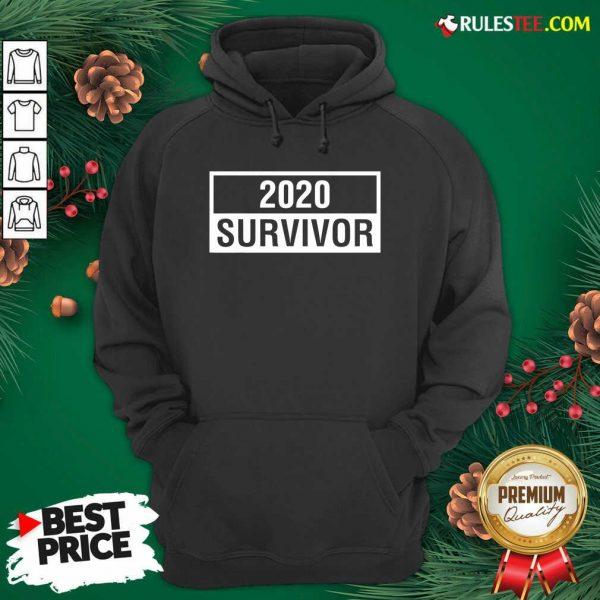 Premium 2020 Survivor Hoodie - Design By Rulestee.com
