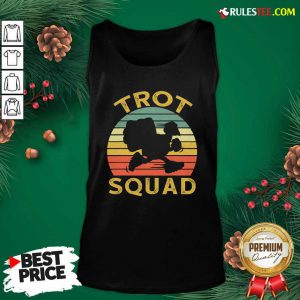 Trot Squad Thanksgiving Turkey Trot Costume Vintage Tank Top - Design By Rulestee.com
