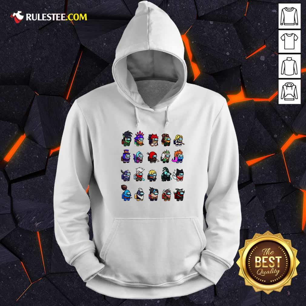 Among Us X League Of Legends Games Hoodie - Design By Rulestee.com