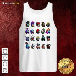 Among Us X League Of Legends Games Tank Top - Design By Rulestee.com