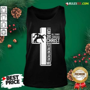 Cross I Can Do Christ Who Strengthens Me Tank Top - Design By Rulestee.com