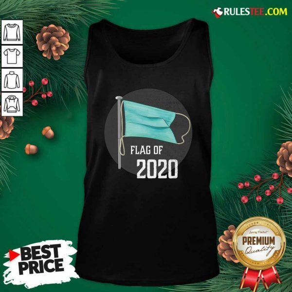 Face Mask Flag Of 2020 Disaster Year To Forget Tank Top - Design By Rulestee.com