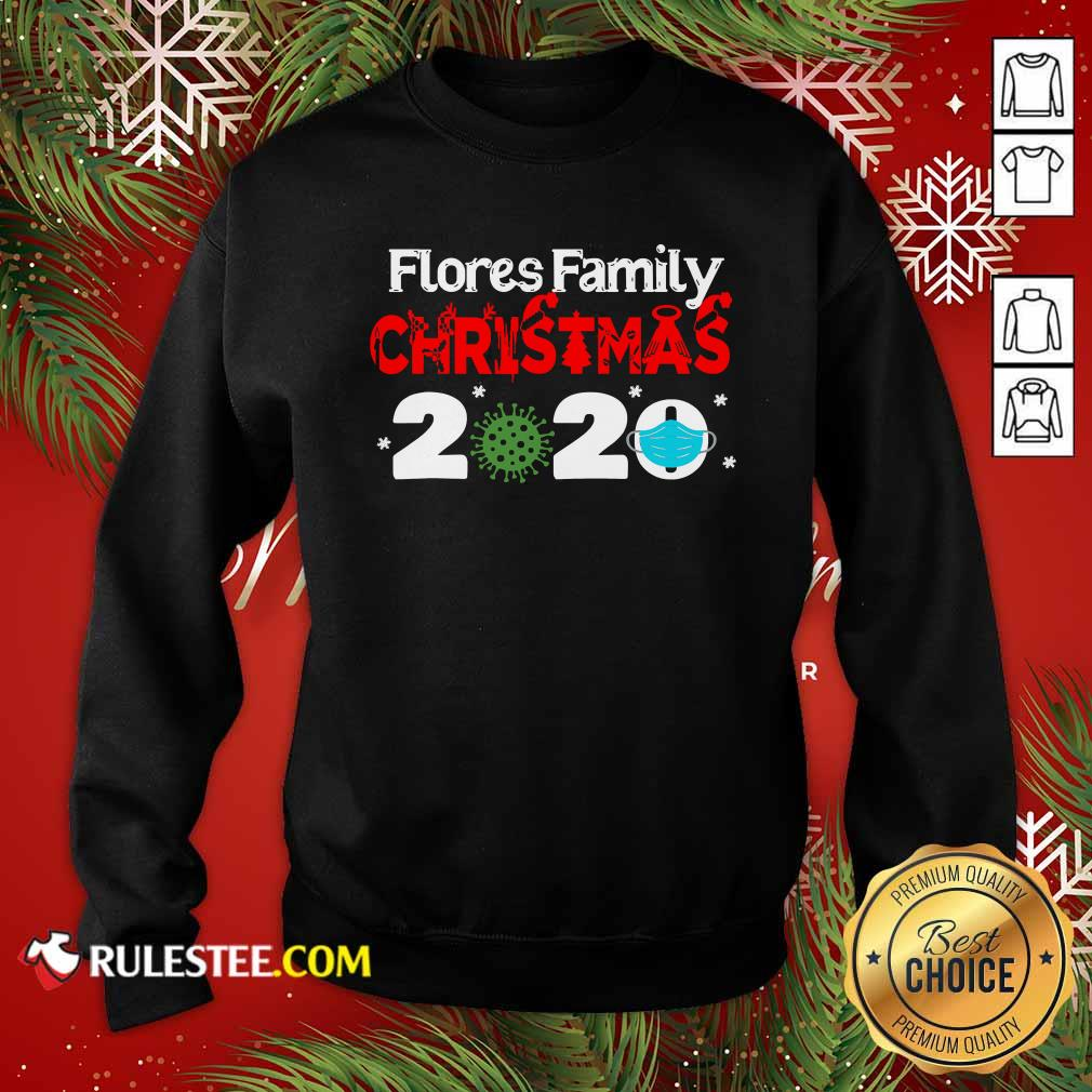 Flores Christmas 2020 Mask Corona Virus Sweatshirt - Design By Rulestee.com