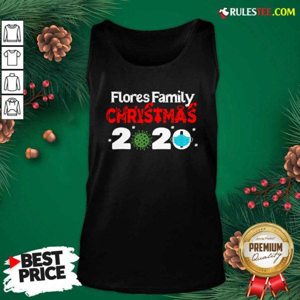 Flores Christmas 2020 Mask Corona Virus Tank Top - Design By Rulestee.com