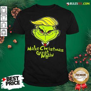 Pretty Grinch Trump Make Christmas Great Again Shirt - Design By Rulestee.com
