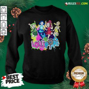 Top Lollipopz Merch Sweatshirt - Design By Rulestee.com