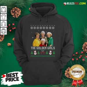 The Golden Girls Ugly Merry Christmas Hoodie - Design By Rulestee.com