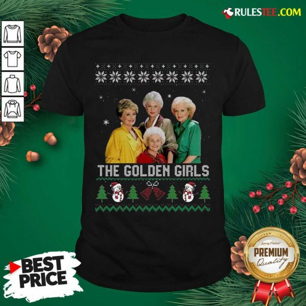 The Golden Girls Ugly Merry Christmas Shirt - Design By Rulestee.com