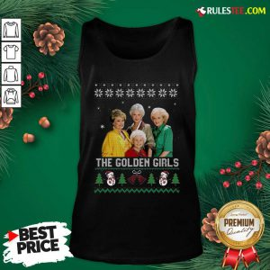 The Golden Girls Ugly Merry Christmas Tank Top - Design By Rulestee.com