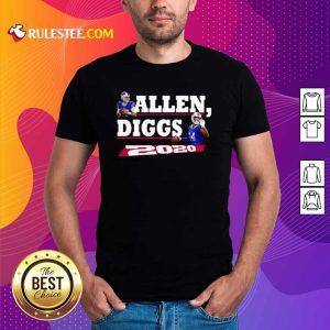 Allen Diggs 2020 Buffalo Shirt - Design By Rulestee.com
