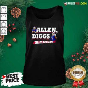 Allen Diggs 2020 Buffalo Tank Top - Design By Rulestee.com