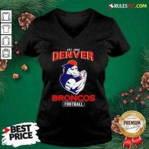 Est 1960 Denver Broncos Football V-neck - Design By Rulestee.com
