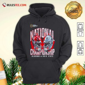 Alabama Crimson Tide Vs Ohio State Buckeyes College Football Playoff 2021 Hoodie - Design By Rulestee.com