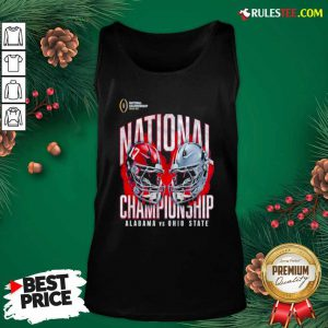 Alabama Crimson Tide Vs Ohio State Buckeyes College Football Playoff 2021 Tank Top - Design By Rulestee.com