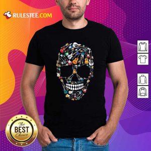 Skull Guitars Shirt - Design By Rulestee.com