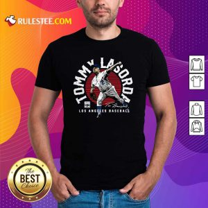 Tommy Lasorda Los Angeles Baseball Signature Shirt - Design By Rulestee.com