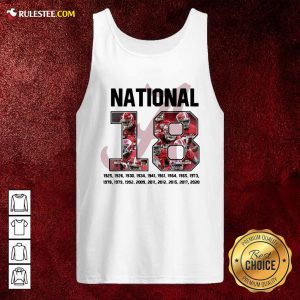 18 Time National Alabama Crimson Tide Tank Top - Design By Rulestee.com