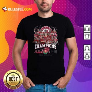 Alabama Crimson Tide Football Champions Rose Bowl Game Shirt - Design By Rulestee.com