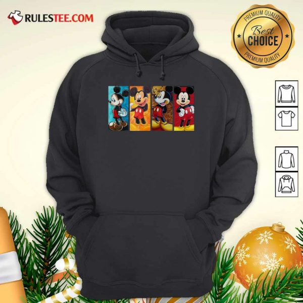 Mickey Mouse Be Strong Be Brave Be Humble Be Badass Hoodie - Design By Rulestee.com