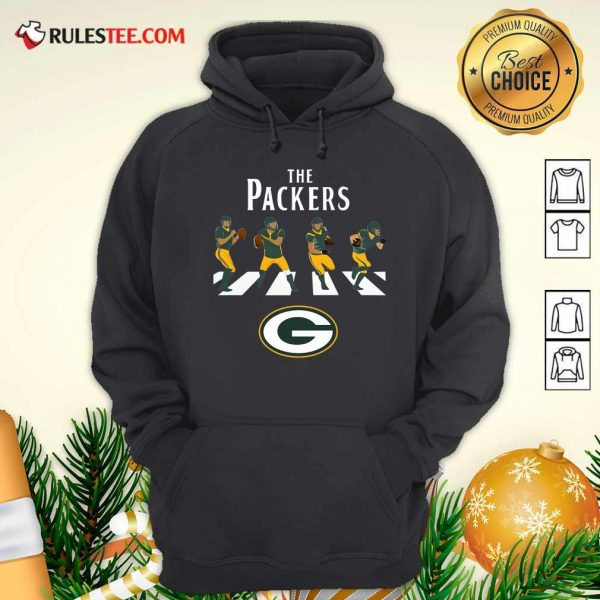 The Green Bay Packers Football Abbey Road Hoodie - Design By Rulestee.com