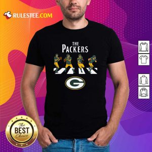 The Green Bay Packers Football Abbey Road Shirt - Design By Rulestee.com