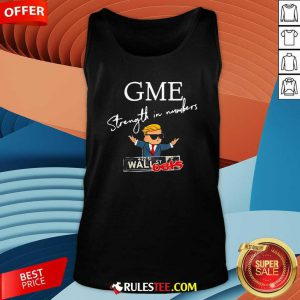 Donald Trump Gme Strength In Numbers Tank Top - Design By Rulestee.com