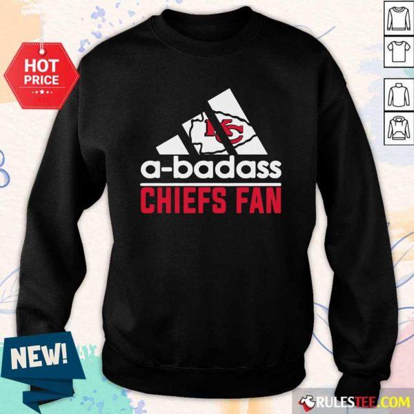 A Badass Chiefs Fan Sweatshirt - Design By Rulestee.com