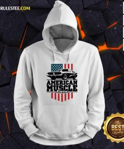 American Muscle Cars Flag Hoodie - Design By Rulestee.com