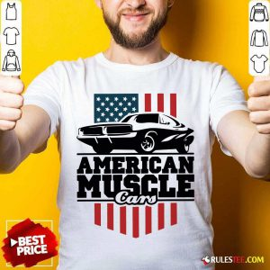 American Muscle Cars Flag Shirt - Design By Rulestee.com