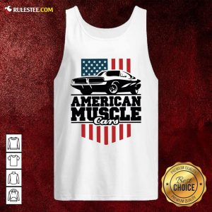 American Muscle Cars Flag Tank Top - Design By Rulestee.com