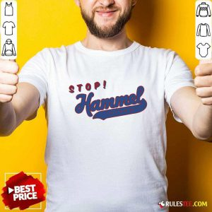 Chicago Bears Stop Hammer Time Shirt - Design By Rulestee.com