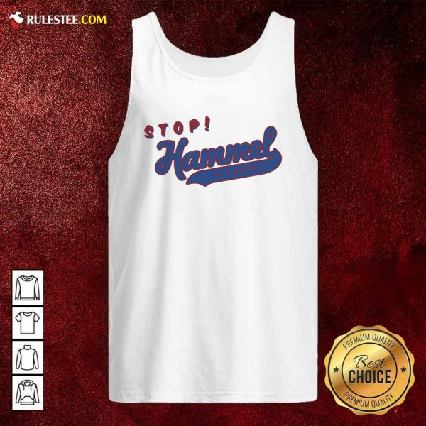 Chicago Bears Stop Hammer Time Tank Top - Design By Rulestee.com
