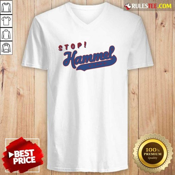Chicago Bears Stop Hammer Time V-neck - Design By Rulestee.com