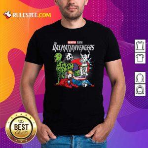 Dalmatian Marvel Avengers Dalmatianvengers Shirt - Design By Rulestee.com