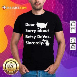 Gretchen Whitmer Betsy Devos Shirt - Design By Rulestee.com