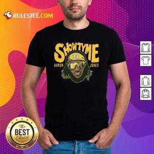Showtyme Green Bay Aaron Jones Shirt - Design By Rulestee.com