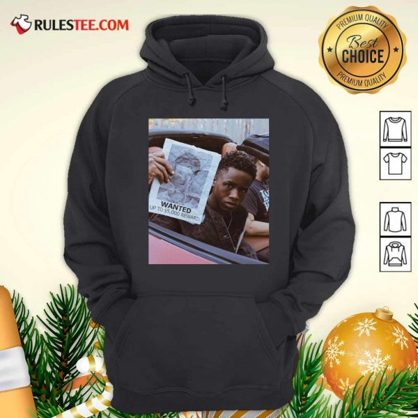 Tay K Wanted Up To 5000 Reward Hoodie - Design By Rulestee.com