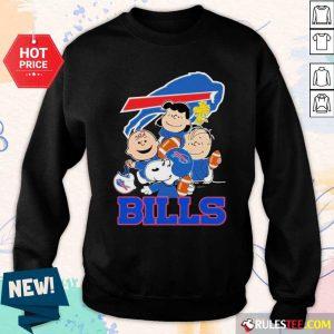 The Buffalo Bills Snoopy The Peanuts Tee Unisex Sweatshirt - Design By Rulestee.com