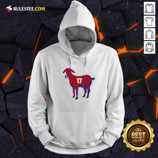 17 Goat Allen For Buffalo Bill 2021 Hoodie - Design By Rulestee.com