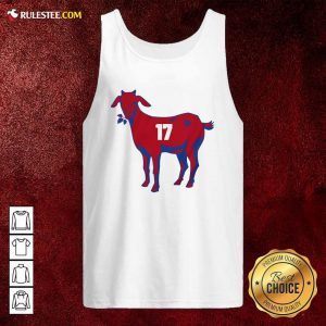 17 Goat Allen For Buffalo Bill 2021 Tank Top - Design By Rulestee.com