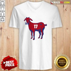 17 Goat Allen For Buffalo Bill 2021 V-neck - Design By Rulestee.com