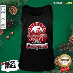 Alabama Crimson Tide 2021 Rose Bowl Champions Tank Top - Design By Rulestee.com