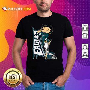 Betty Boop Philadelphia Eagles Football Shirt - Design By Rulestee.com