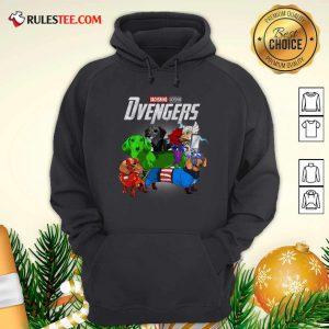 Dachshund Marvel Avengers Dvengers Hoodie - Design By Rulestee.com