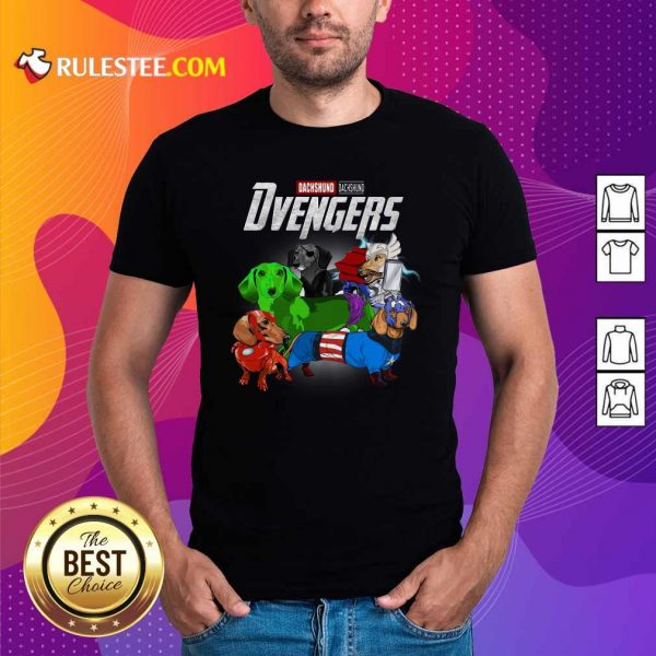 Dachshund Marvel Avengers Dvengers Shirt - Design By Rulestee.com