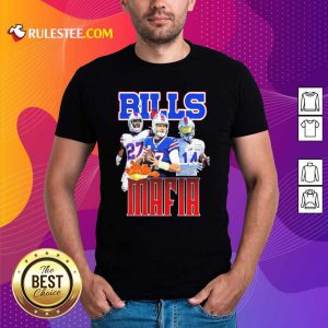 Digg Allen And Tredavious White Buffalo Bills Mafia 2021 Shirt - Design By Rulestee.com