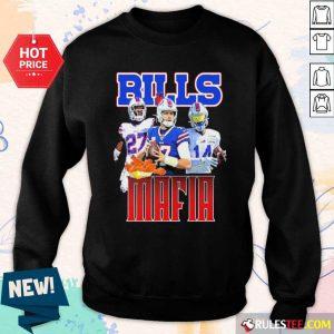 Digg Allen And Tredavious White Buffalo Bills Mafia 2021 Sweatshirt - Design By Rulestee.com