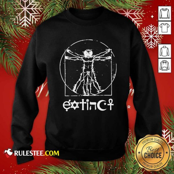 Extinct Ventruvian Sweatshirt - Design By Rulestee.com